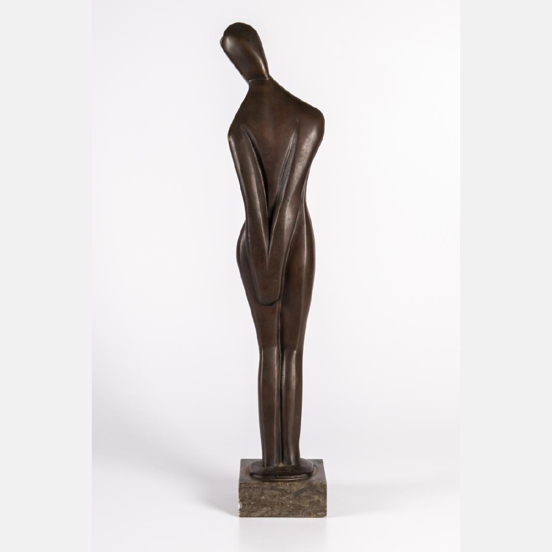 Margarete (Marg) Moll (1884-1977) Standing Female Nude, - 2