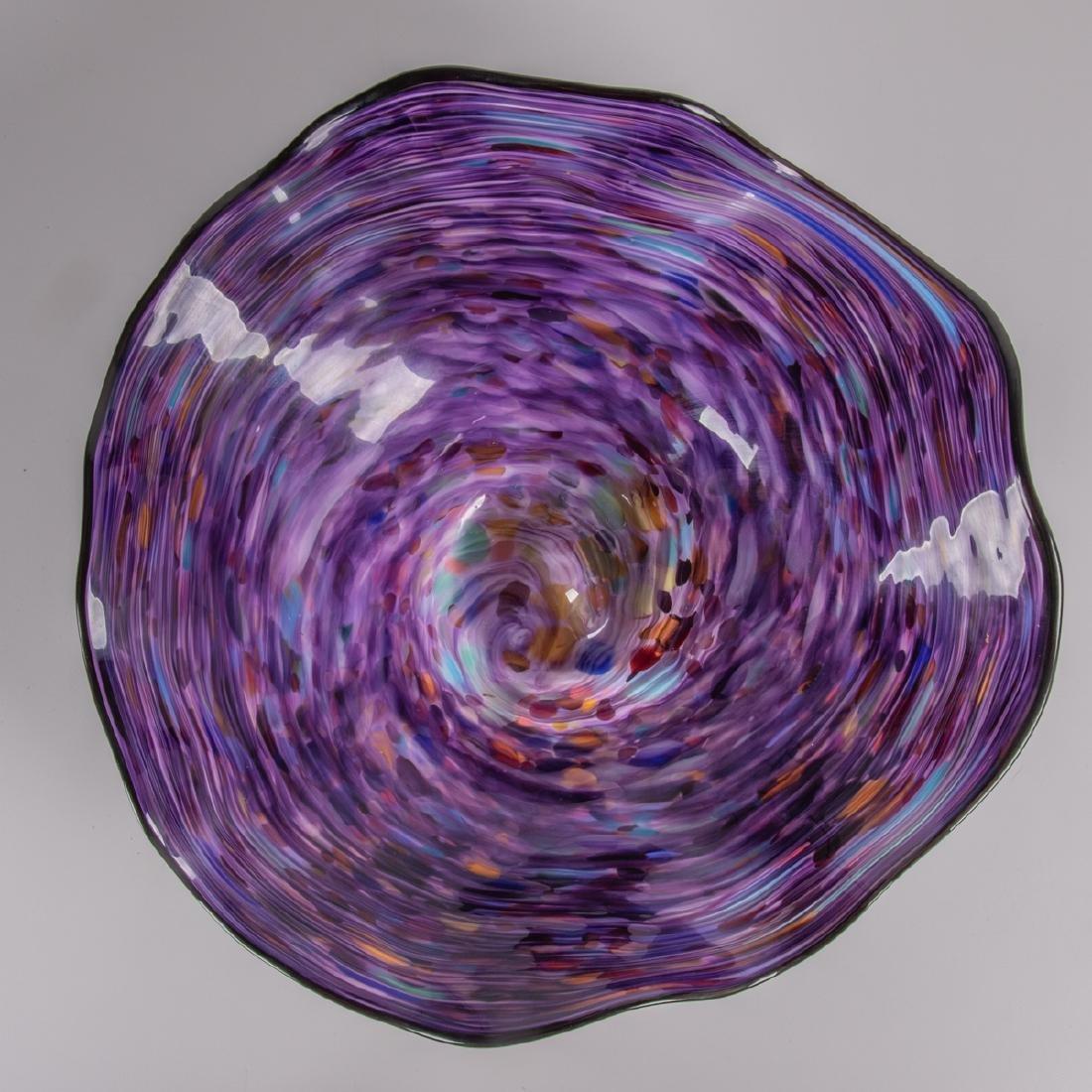 Callahan McVay (20th Century) Purple and Polk-a-Dotted - 2