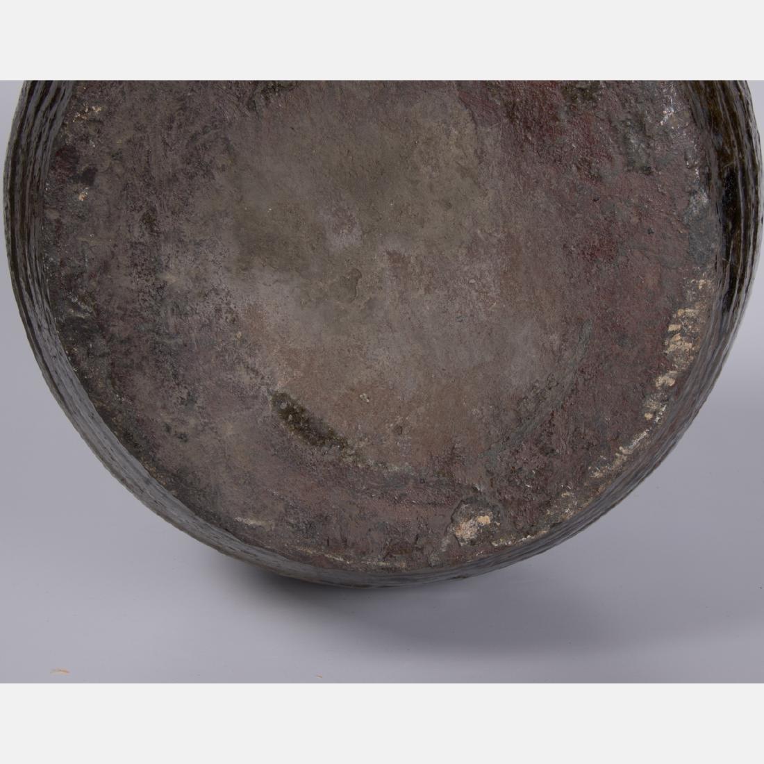 A Chinese Archaic Style Stoneware Storage Vessel. - 3