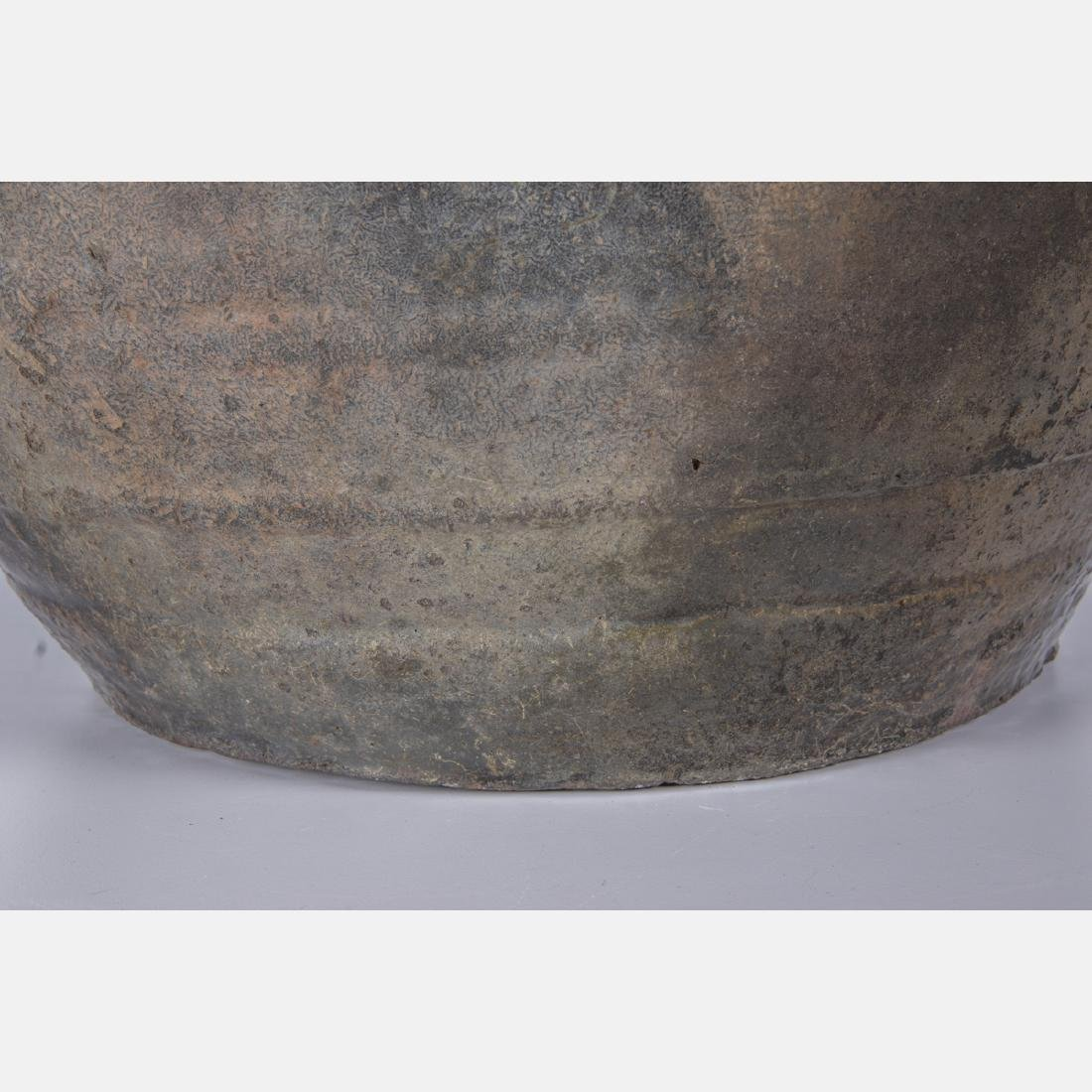 A Chinese Archaic Style Stoneware Storage Vessel. - 6