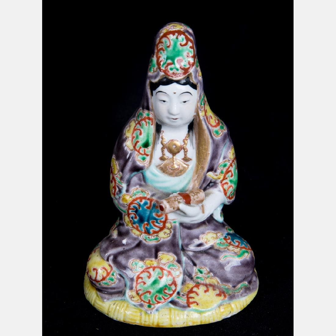 A Group of Five Japanese Porcelain Figurines, 20th - 4