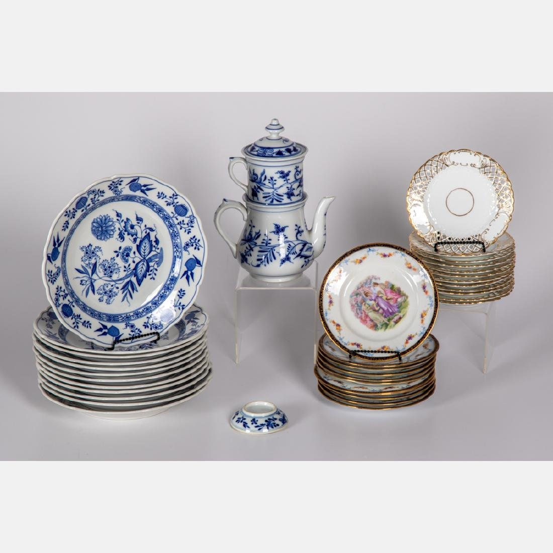 A Miscellaneous Collection of European Porcelain Plates