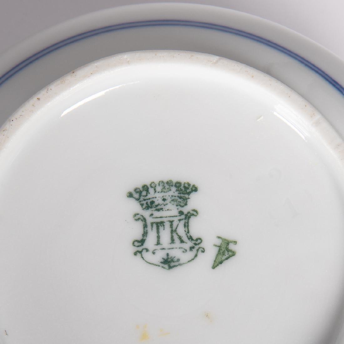 A Miscellaneous Collection of European Porcelain Plates - 3