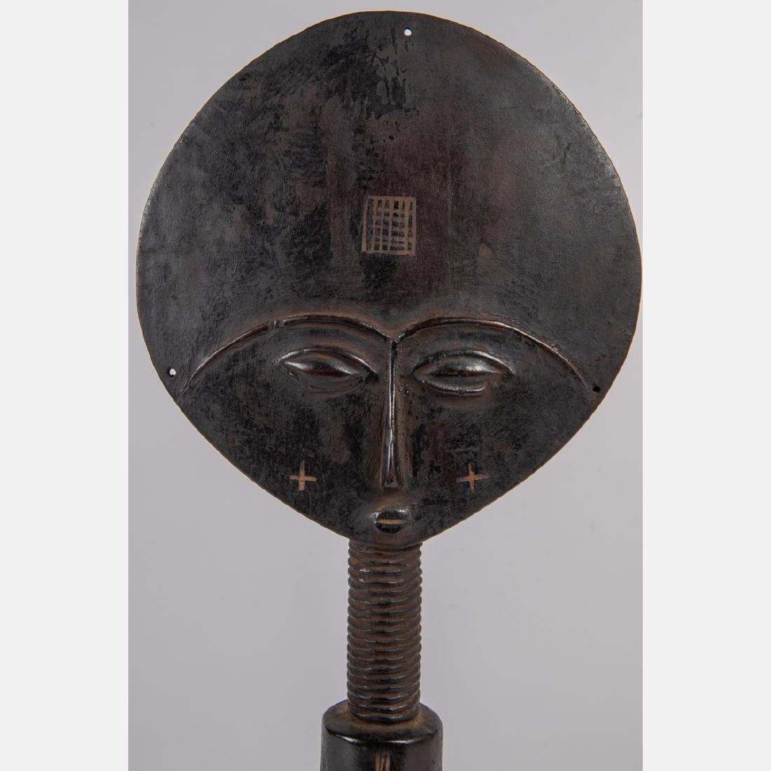 An African Carved Hardwood Asante Akua'ba Fertility - 4