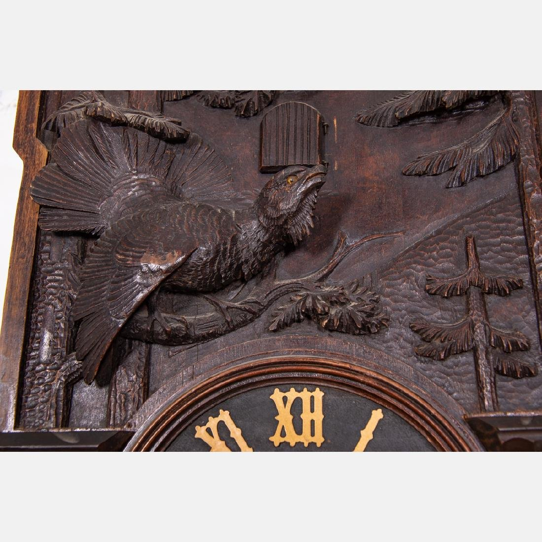 A Black Forest Cuckoo Coo Clock, Early 20th Century, - 5