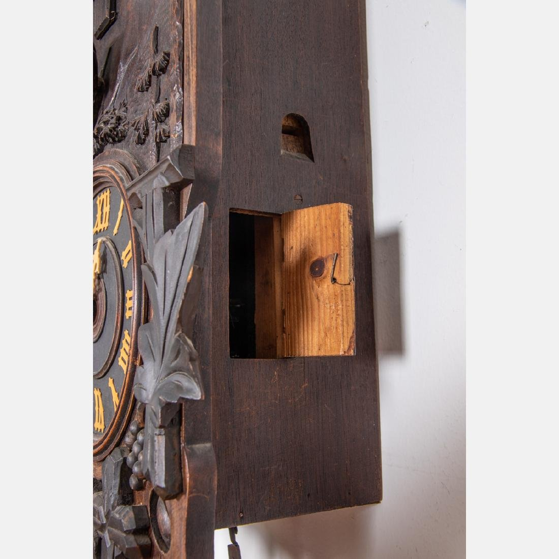 A Black Forest Cuckoo Coo Clock, Early 20th Century, - 7