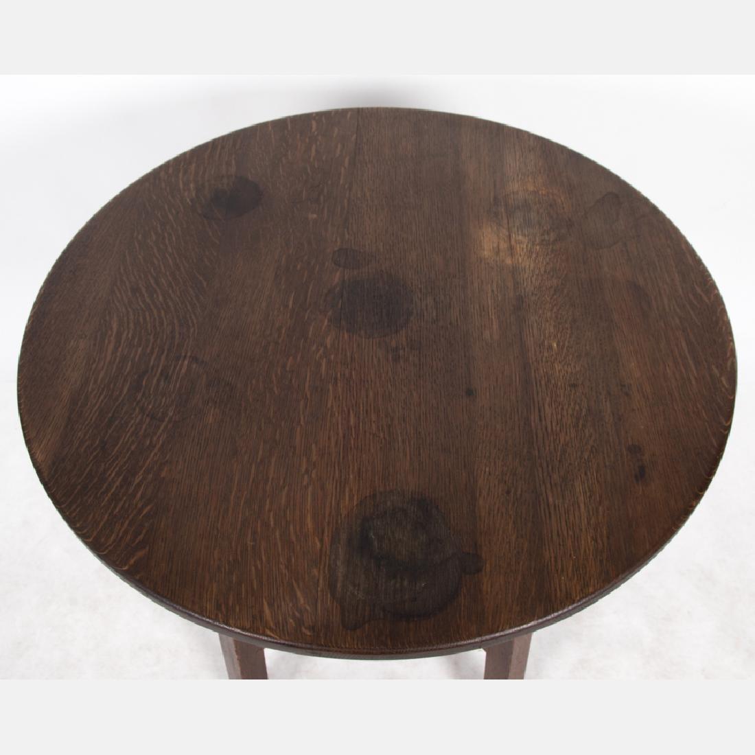 A Limbert Oak Lamp Table, 20th Century, - 2