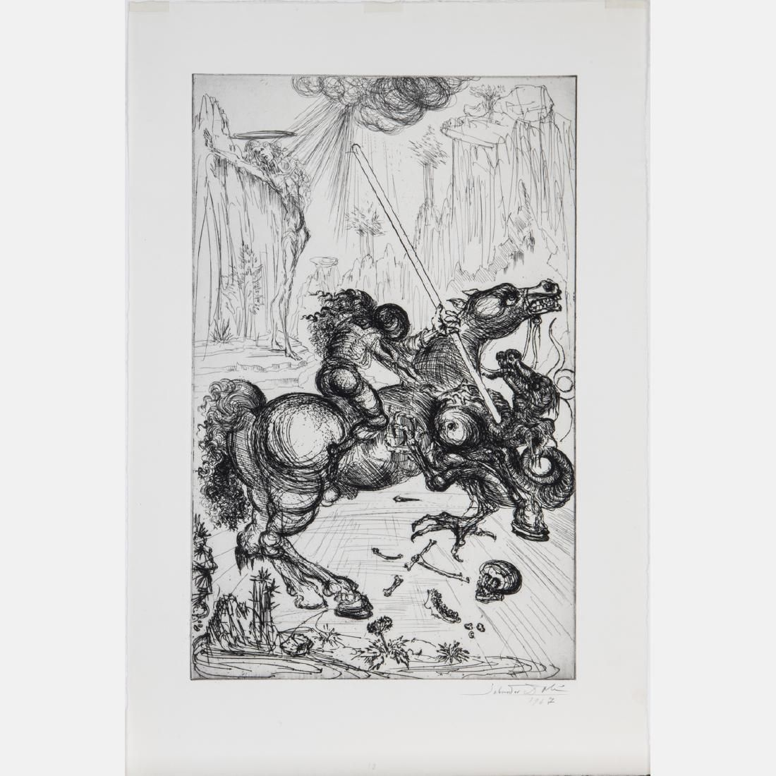 Salvador Dali (1904-1989) St. George and the Dragon,
