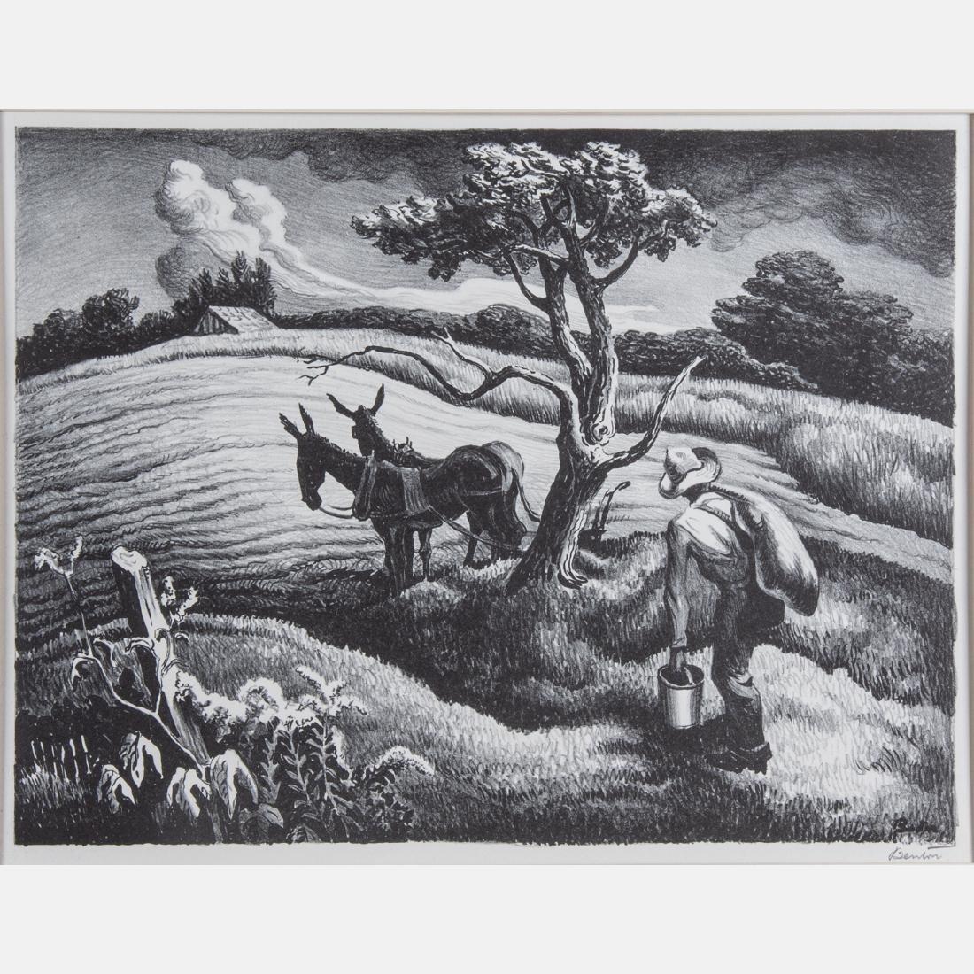 Thomas Hart Benton (1889-1975) Approaching Storm, 1938,