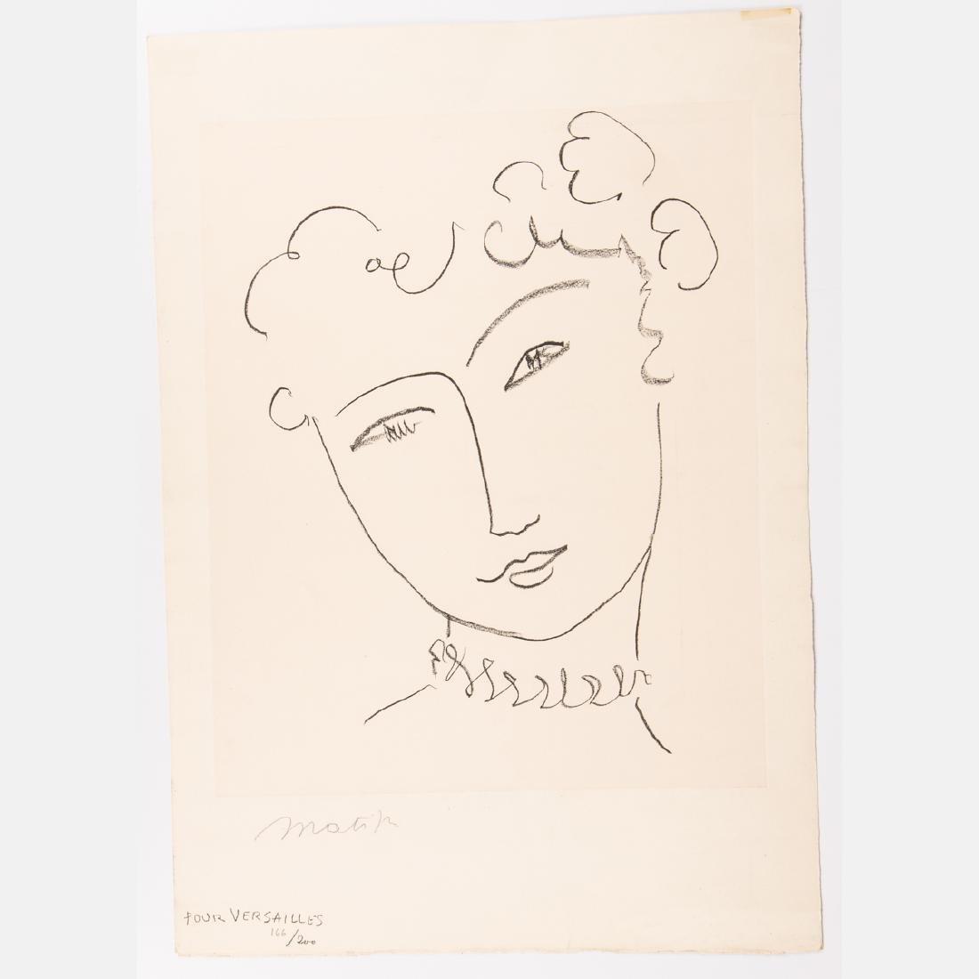 Henri Matisse (1869-1954) Pour Versailles (from La