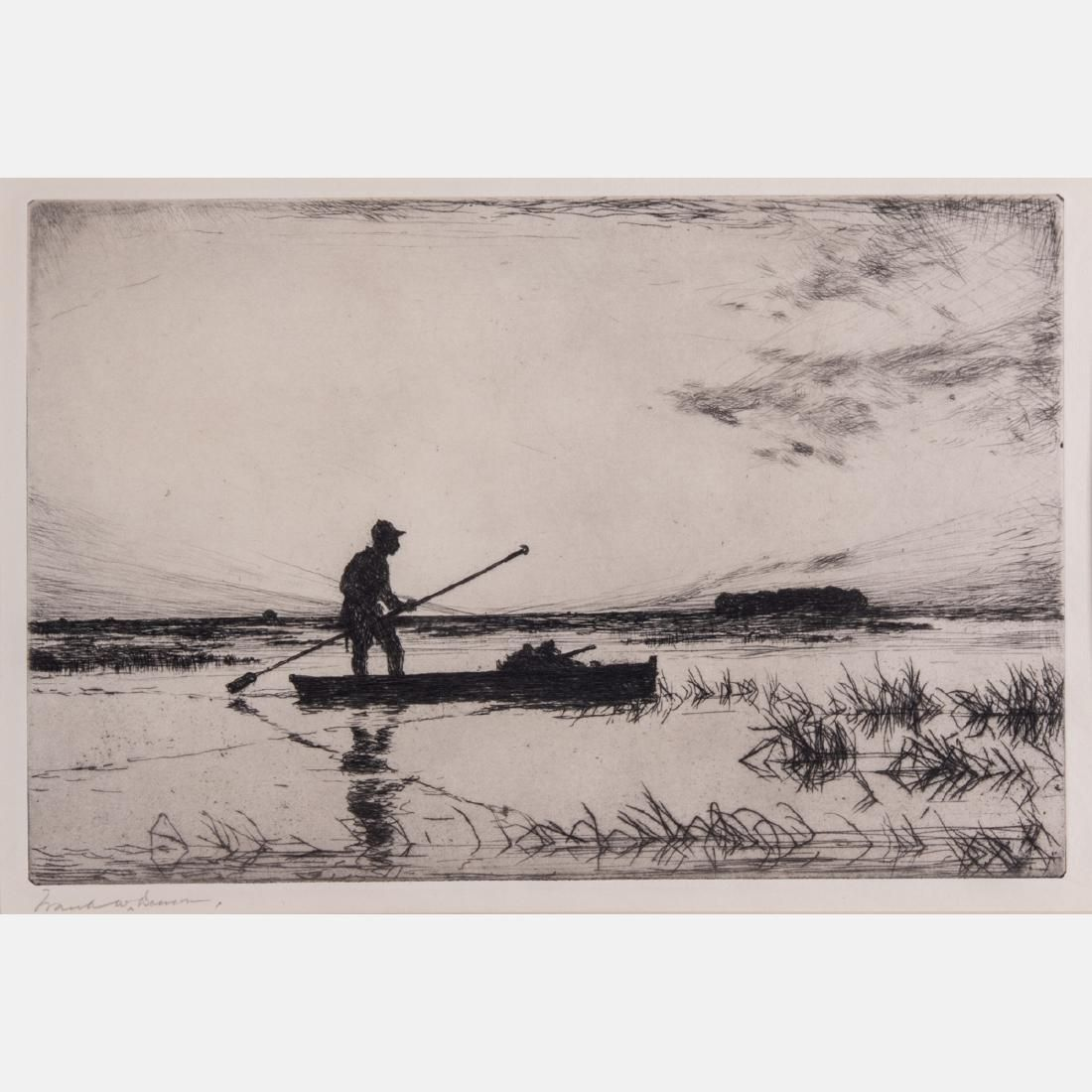 Frank Weston Benson (1862-1951) The Punter, 1927,
