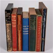 A Collection of Seven Limited Editions Club Books by