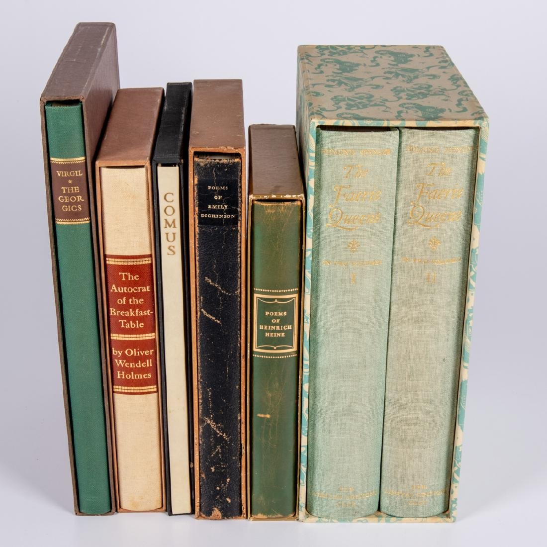 A Collection of Six Limited Editions Club Books