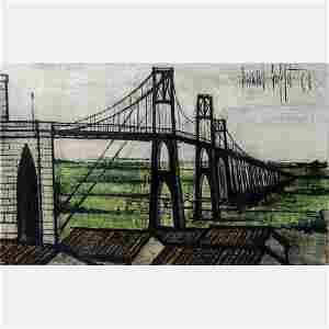 Bernard Buffet (1928-1999) Le Pont Suspendu, 1960,