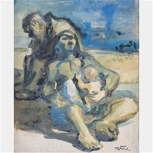 Theodore Fried 19021980 Mother and Child within a