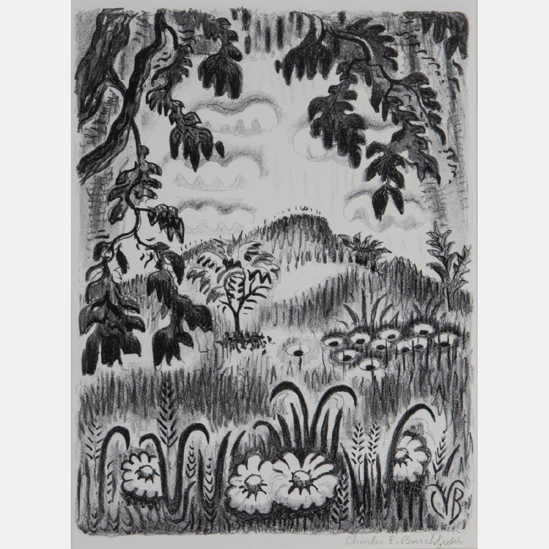 Charles Ephraim Burchfield (1893-1967) Summer