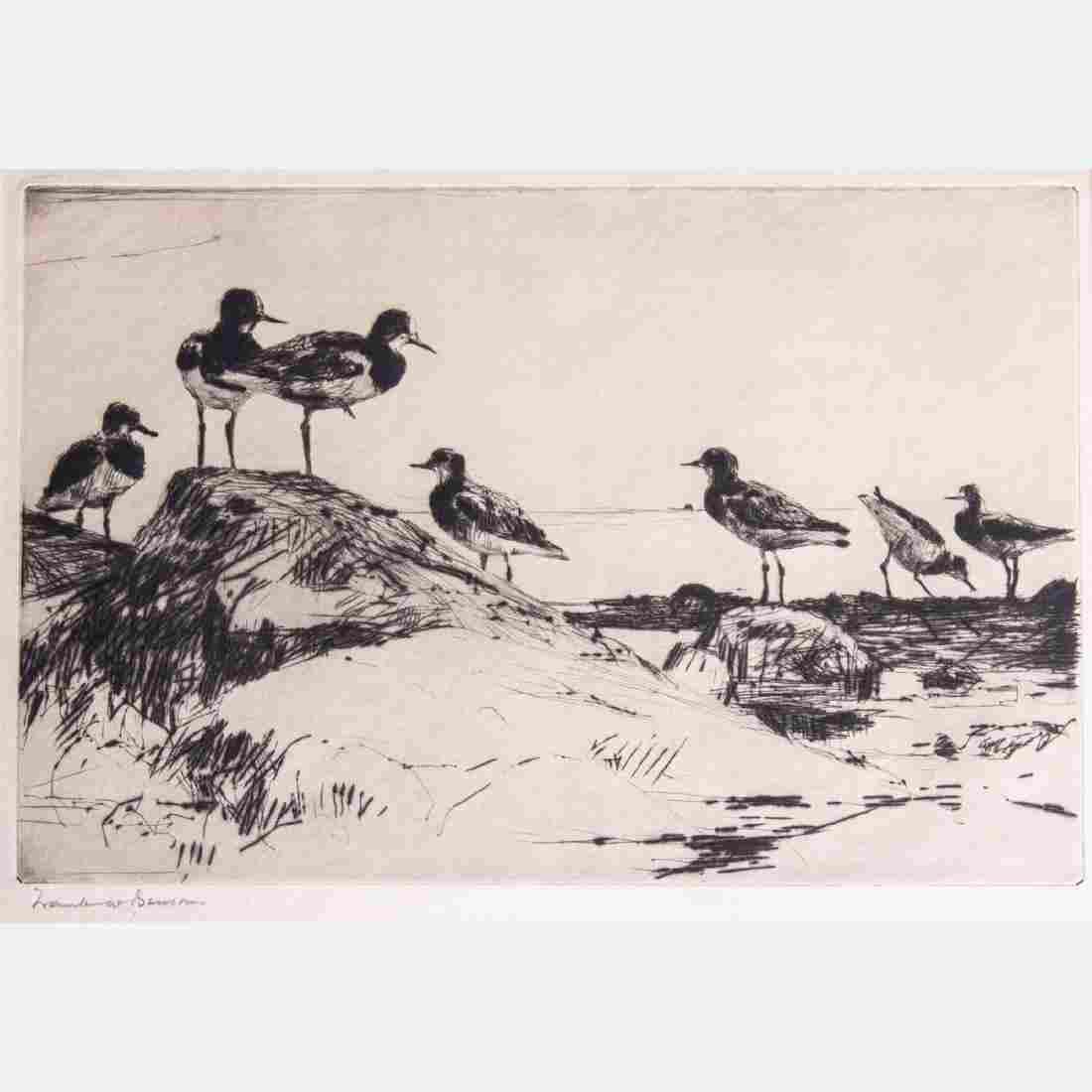 Frank Weston Benson (1862-1951) Turnstones, 1928,