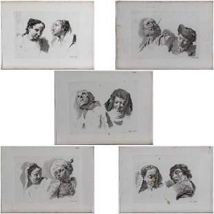 Marco Pitteri 17021786 Five Studies of Heads