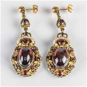 A Pair of Antique Europearn 14kt. Yellow Gold