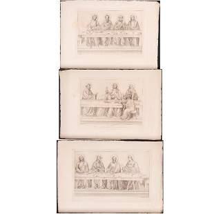 Ferdinand Ruscheweyh 17851846 The Last Supper