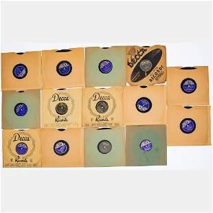 A Group of Fourteen Bing Crosby and Bob Crosby Decca