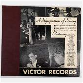 A RCA Victor 'A Symposium of Swing' 12 in. Shellac 78