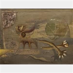 Zdenek Sklenar (Czech, 1910-1986) Untitled, 1946 Oil on