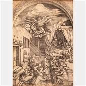 Albrecht Dürer (German, 1471-1528) The Birth of Mary,