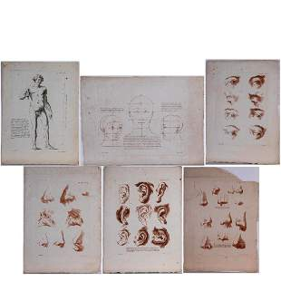 JeanFrancois Janinet 17521814 Six Studies of