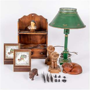 A Miscellaneous Collection of Decorative Items 20th