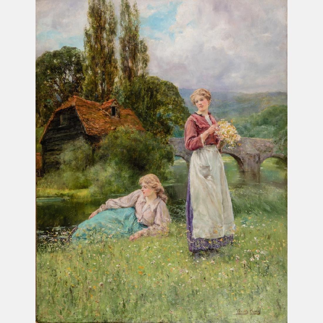 Henry John Yeend King (British, 1855-1924) Two Ladies