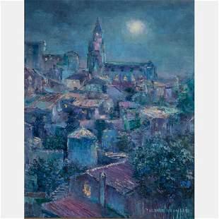 Theresa Knowles (American, 1918-2008) Clair de lune de