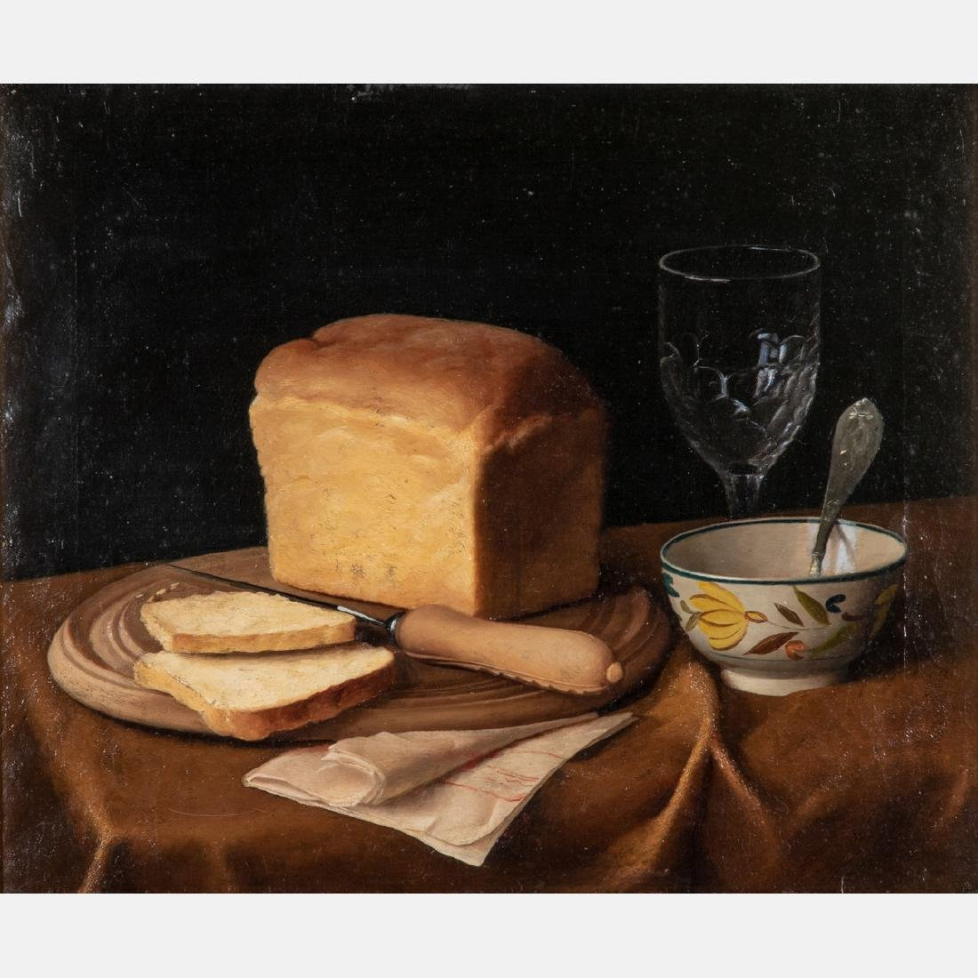 Artist Unknown (American, 19th Century) Still Life with