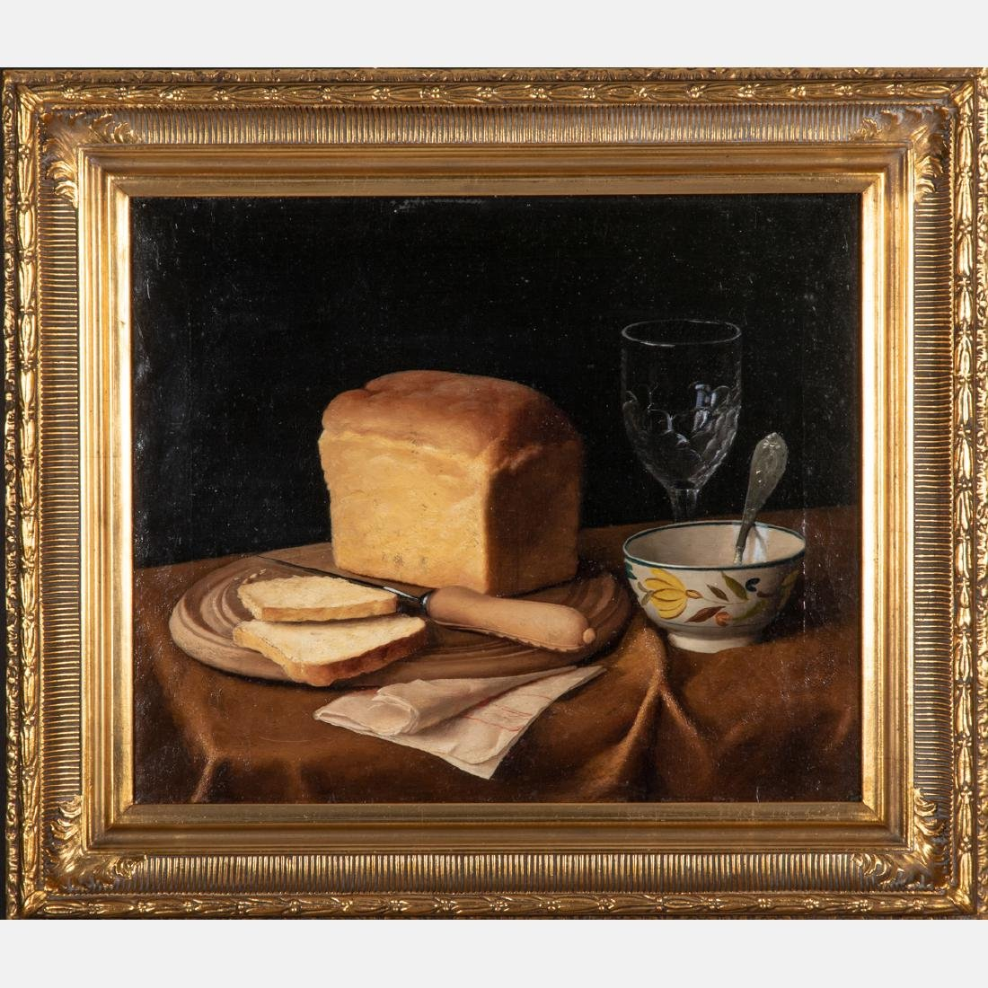 Artist Unknown (American, 19th Century) Still Life with - 2