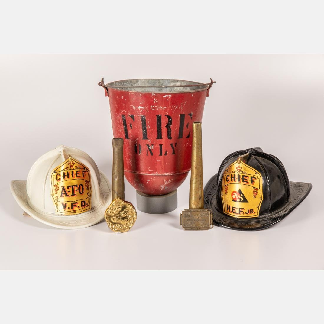 A Miscellaneous Collection of Firemen Themed Decorative