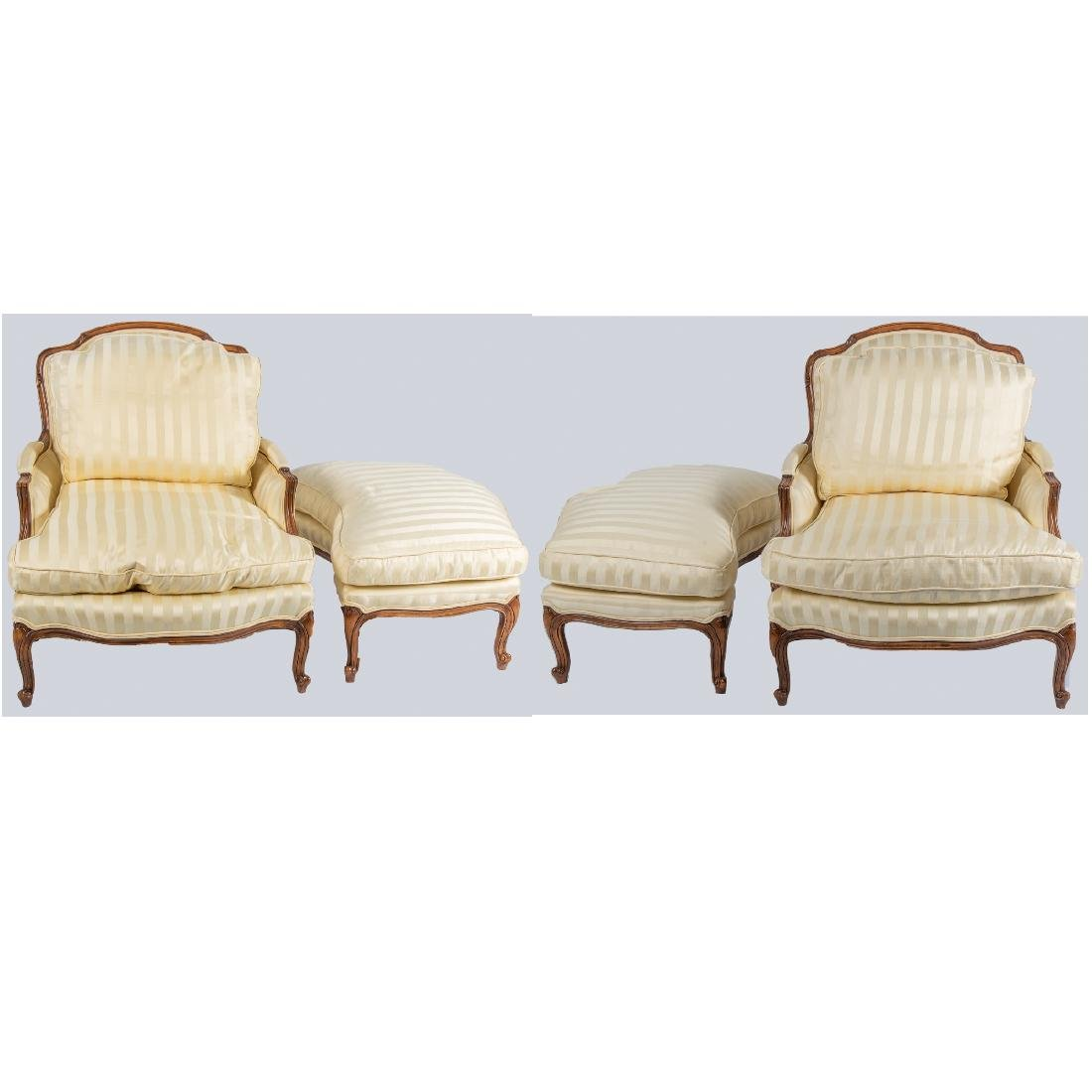 A Pair of Meyer, Guntther and Martini Louis XV Style