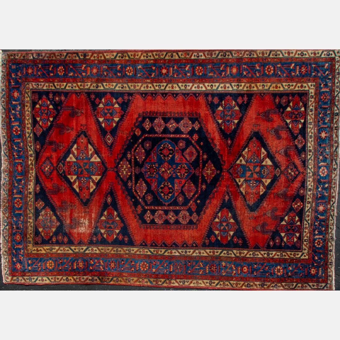 A Northwest Persian Wool Rug, 20th Century,