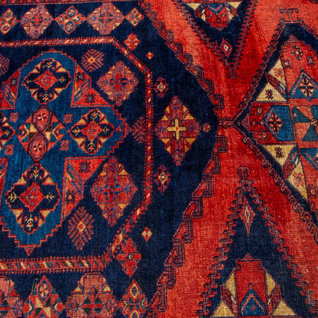A Northwest Persian Wool Rug, 20th Century, - 2