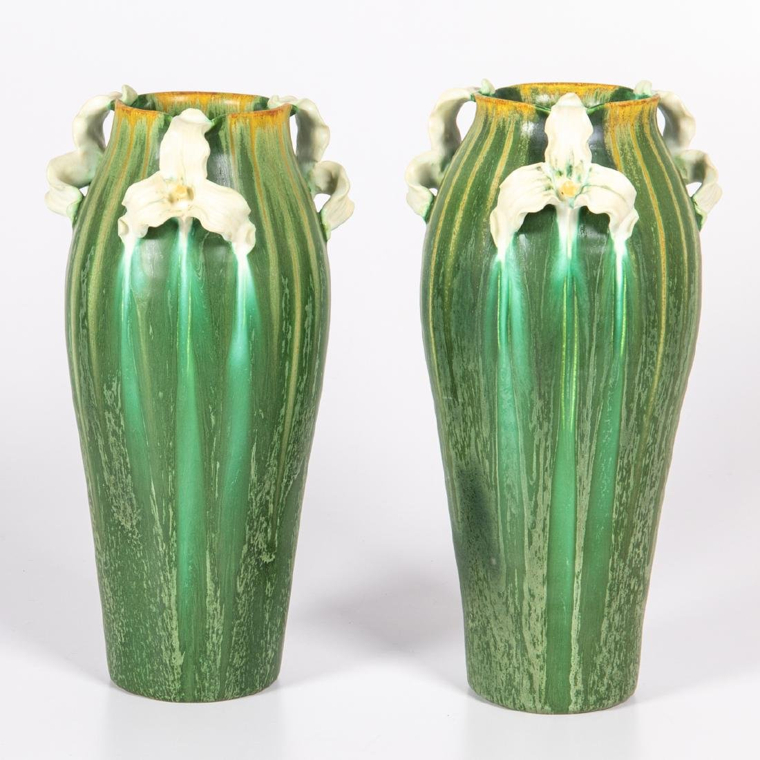 Two Ephraim Pottery Vases by Laura Klein, 20th Century,