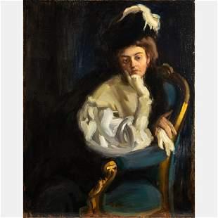 János Vaszary (Hungarian, 1867-1939) Maria