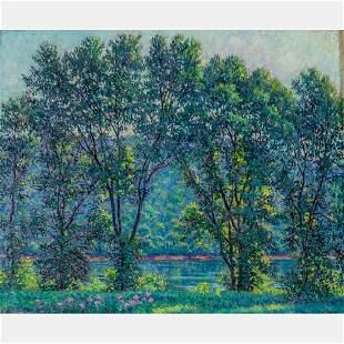 Samuel George Phillips (American, 1890-1965) View of