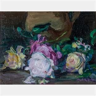 Elizabeth Nourse (American, 1859-1938) Floral Still