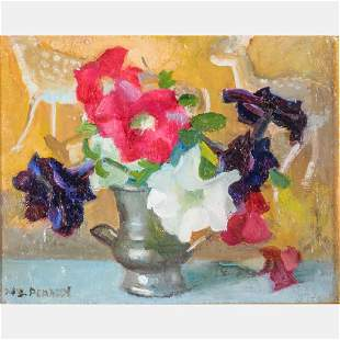 Margueritte S. Pearson (American, 1898-1978) Floral