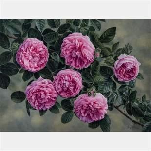 Elena M. Braun (Jo El) (American, 20th Century) Pink