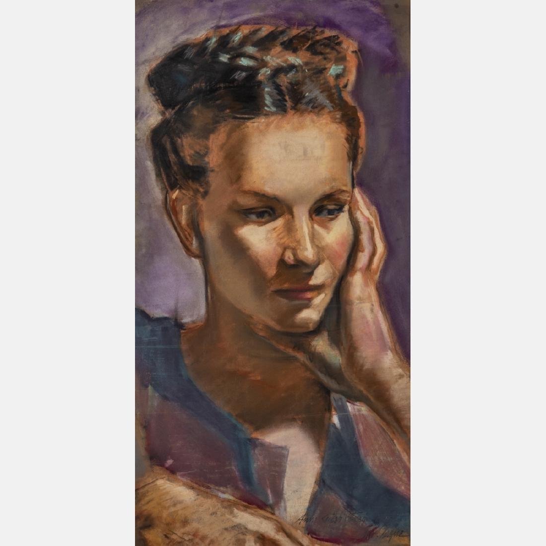John Clague (American, 20th Century) Anne Kaiser
