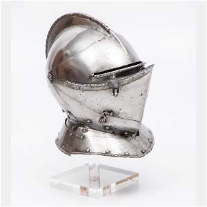 An English Close Helmet, ca. 1560,