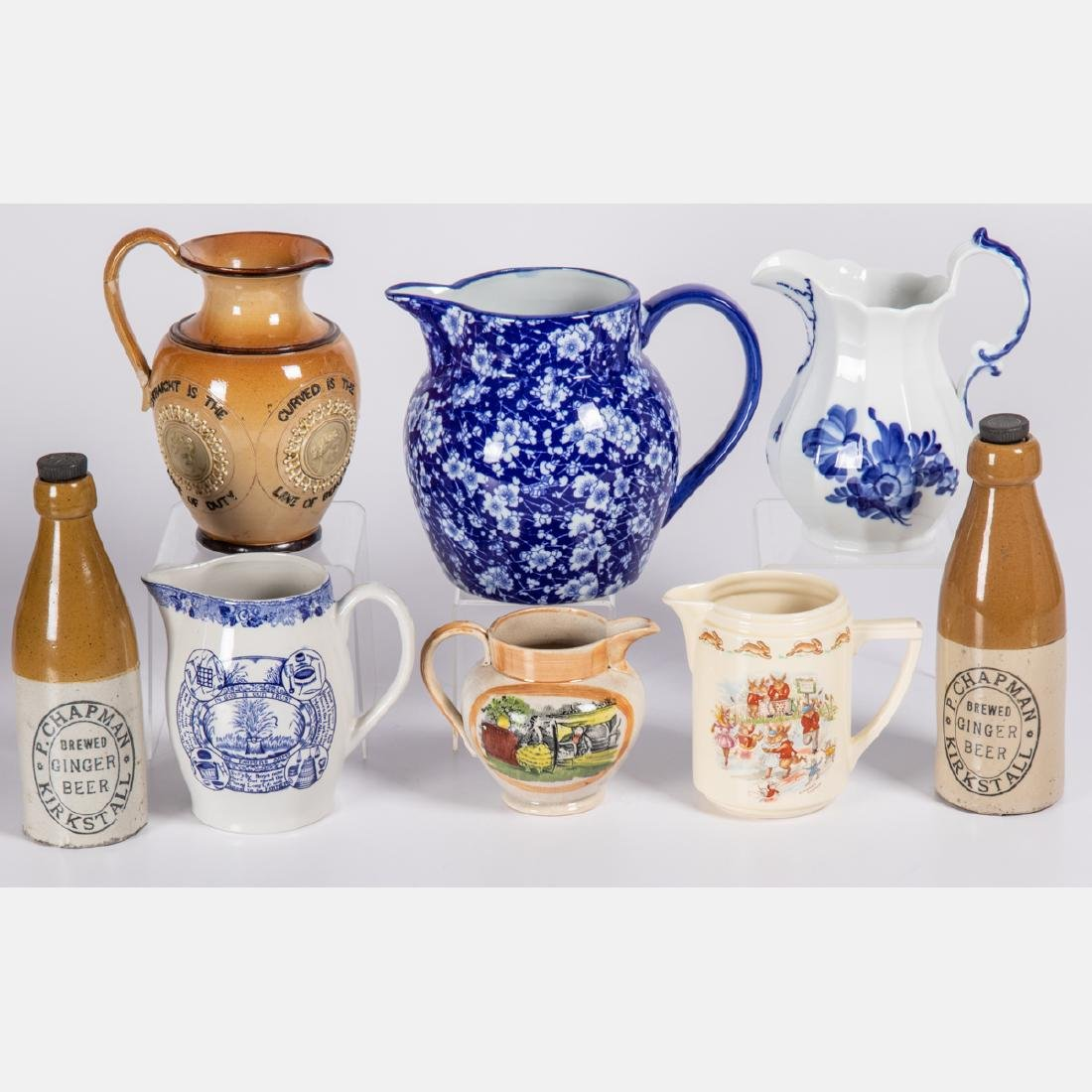 A Miscellaneous Collection of Ceramic Pitchers and