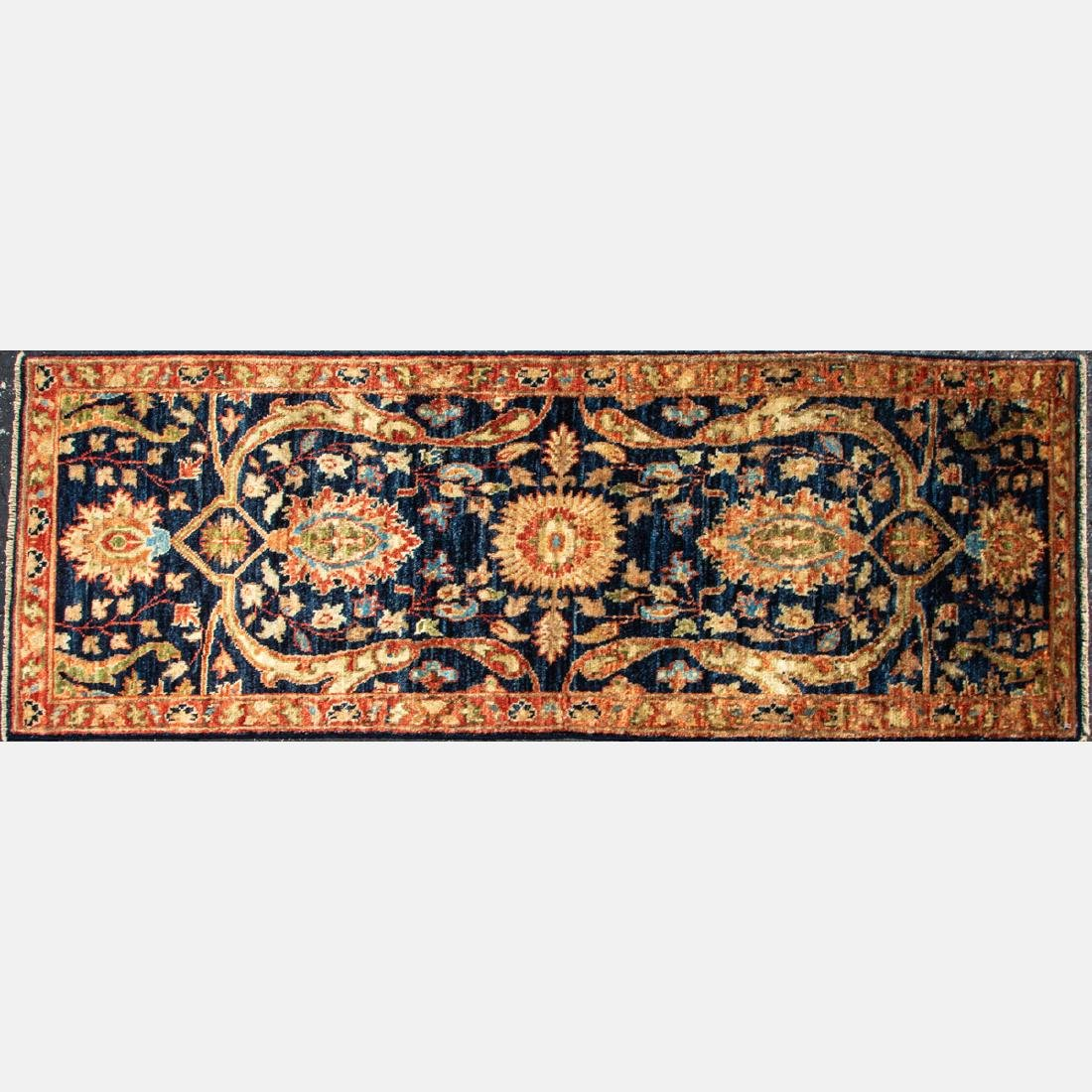 A Persian Tabriz Wool Runner, 20th Century.