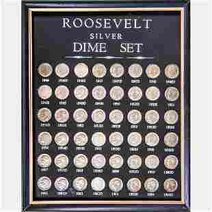 A Complete 19461964 Roosevelt Silver Dime Set