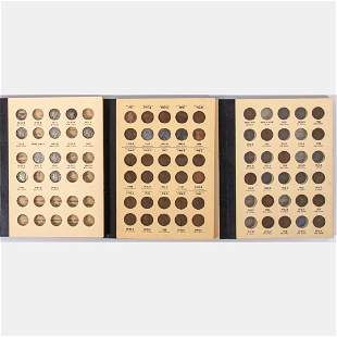 Three Incomplete Library of Coins Folio Sets 20th